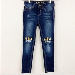 Vigoss unicorn detail skinny jeans